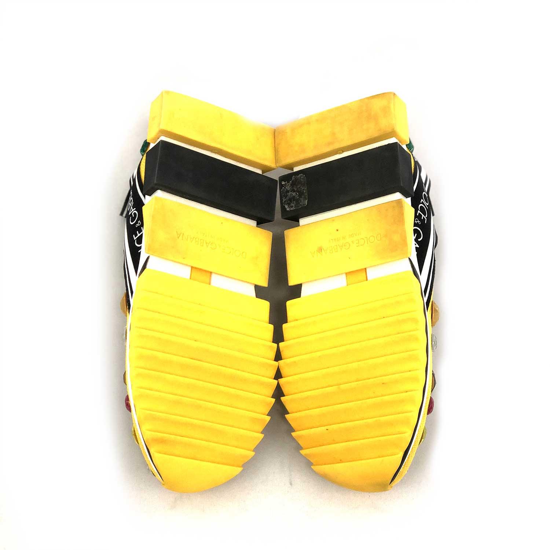 Tênis D&G Sorrento Amarelo