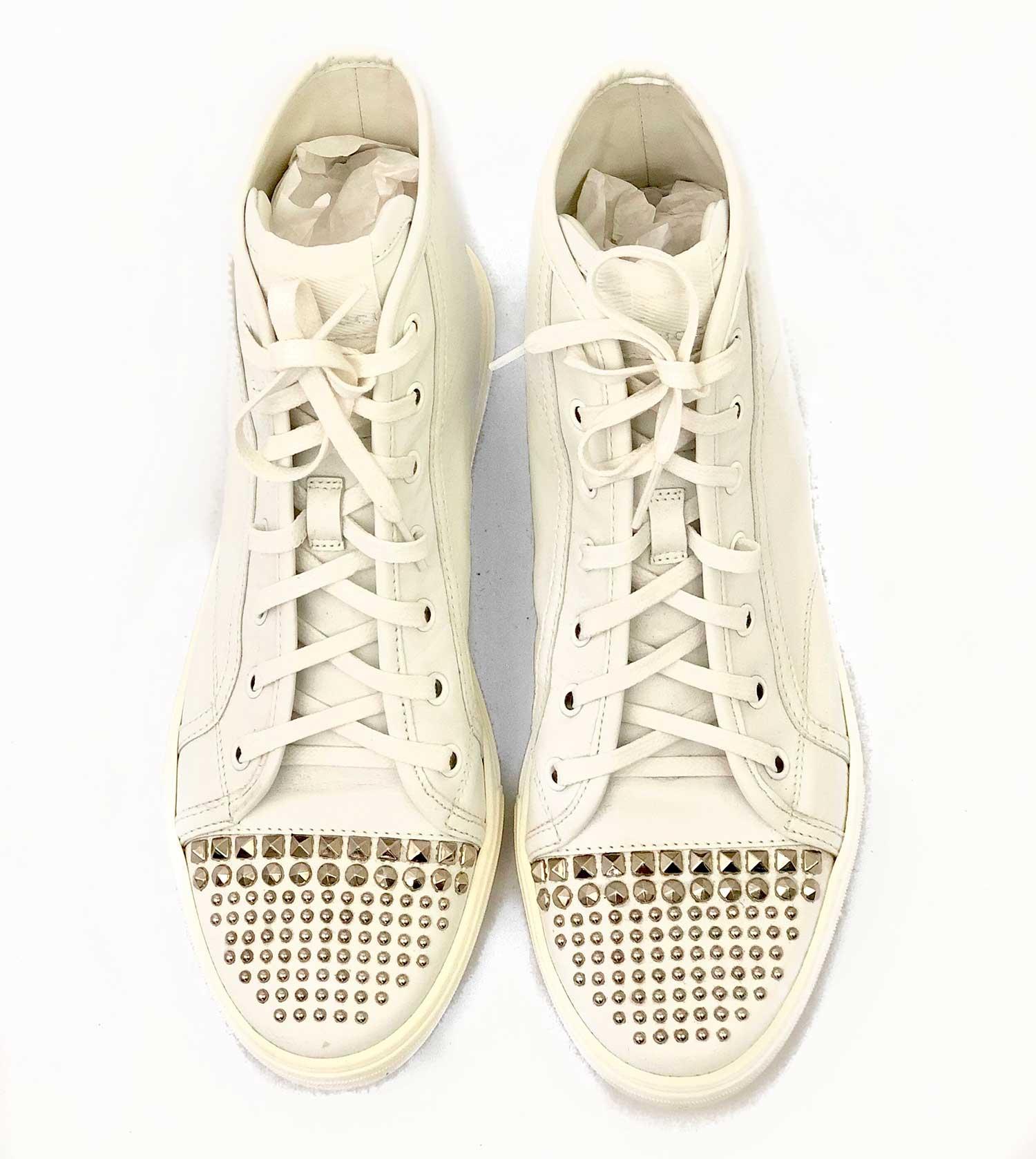Tênis Gucci Branco Cano Alto