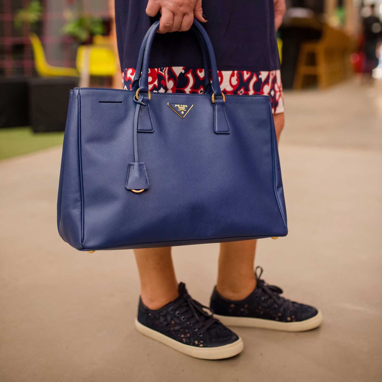 Tenis Tory Burch Renda Azul Marinho