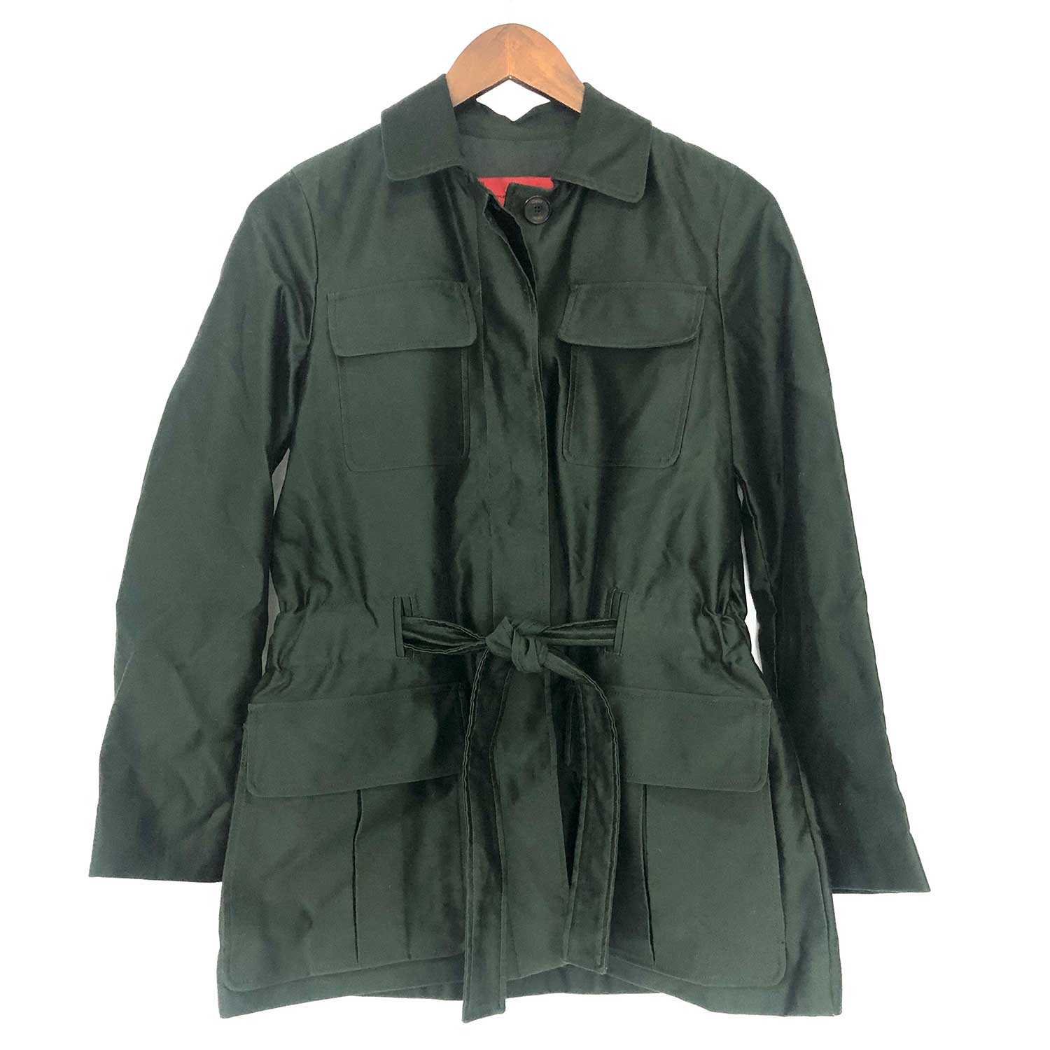 Trench Coat Carolina Herrera Verde