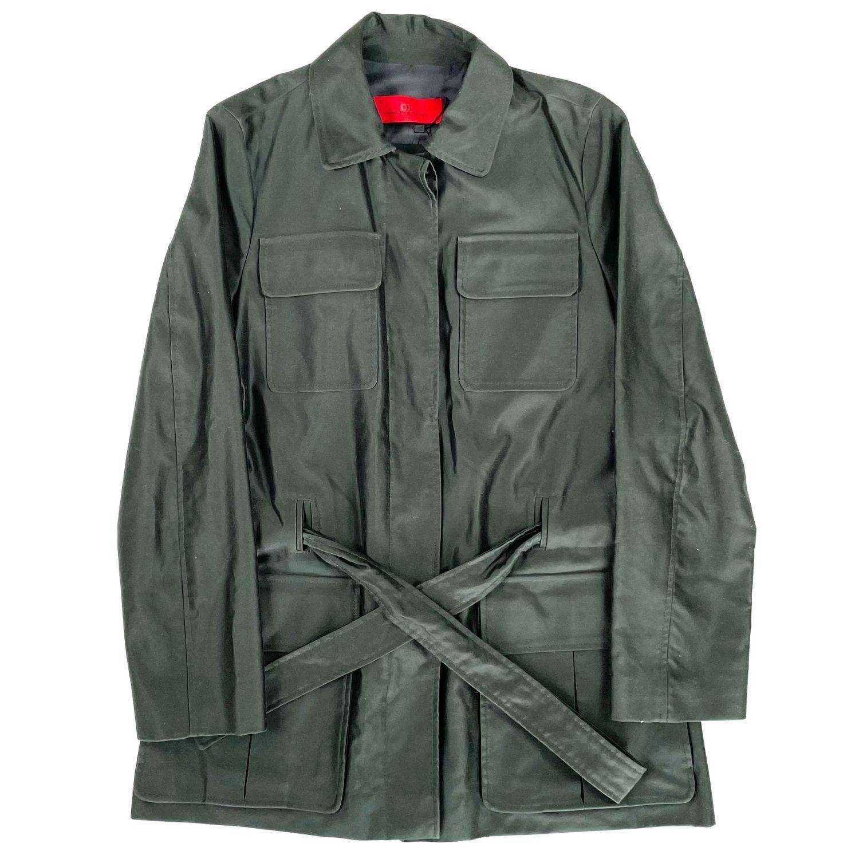 Trench Coat Carolina Herrera Verde