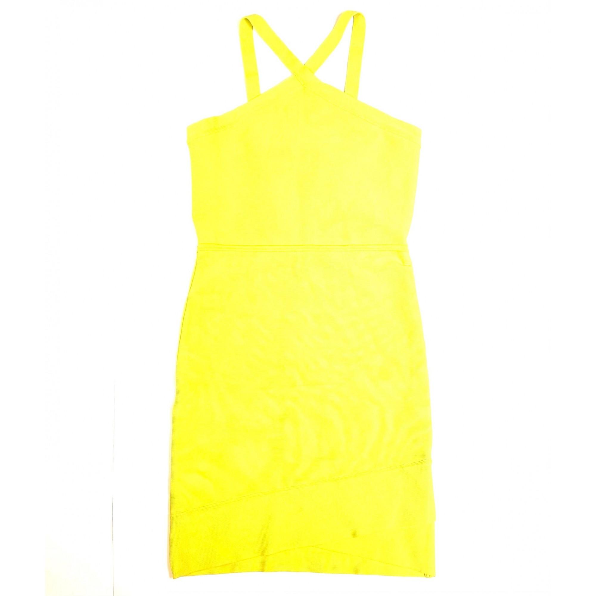 Vestido BCBG Amarelo