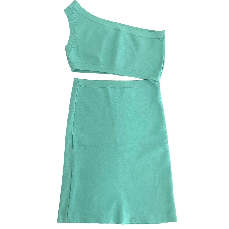 Vestido BCBG Verde Água
