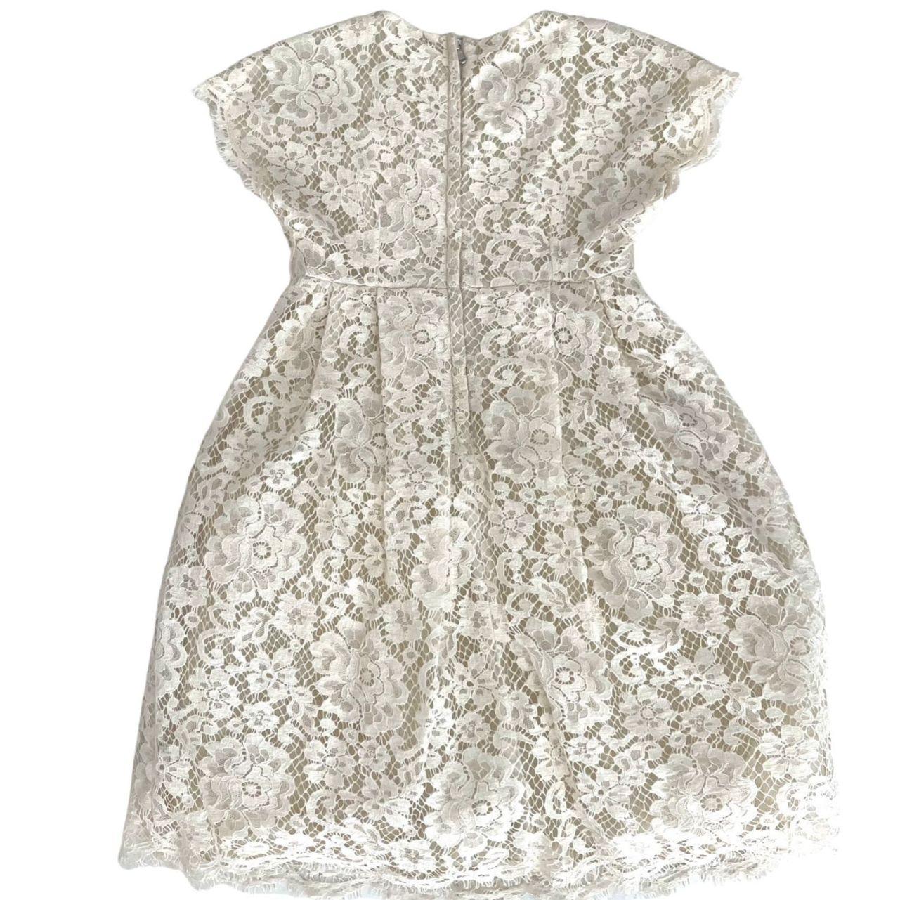 Vestido D&G Renda Offwhite