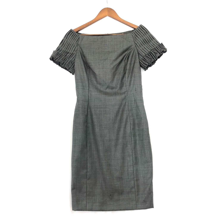 Vestido Dior Tubinho Cinza