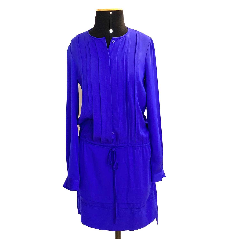 Vestido DVF Azul Royal