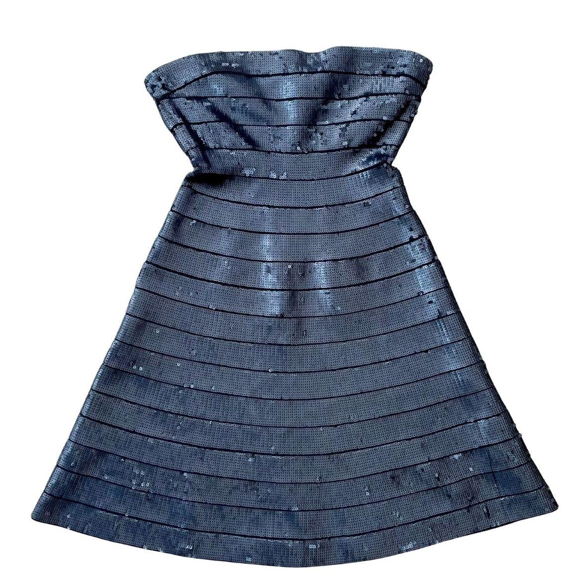 Vestido Herve Leger Paetês