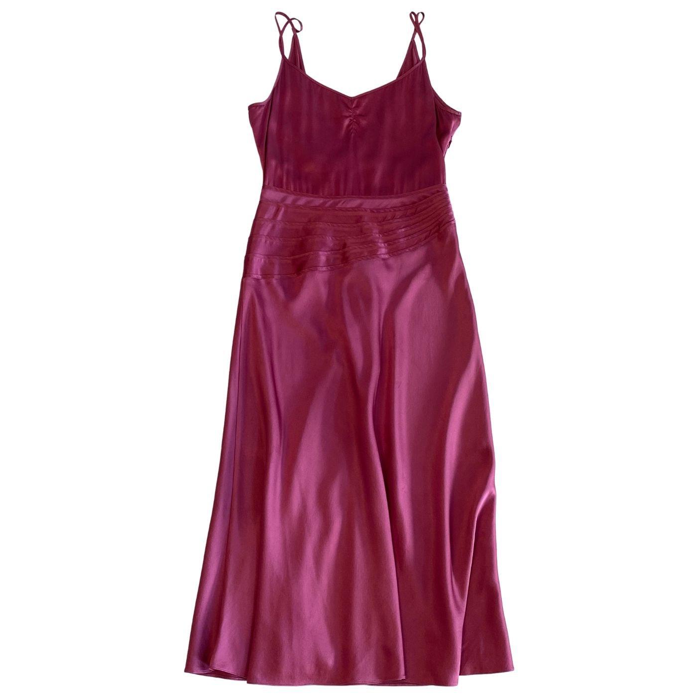 Vestido Marc Jacobs Midi Rosa