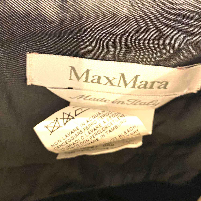 Vestido Max Mara Chumbo