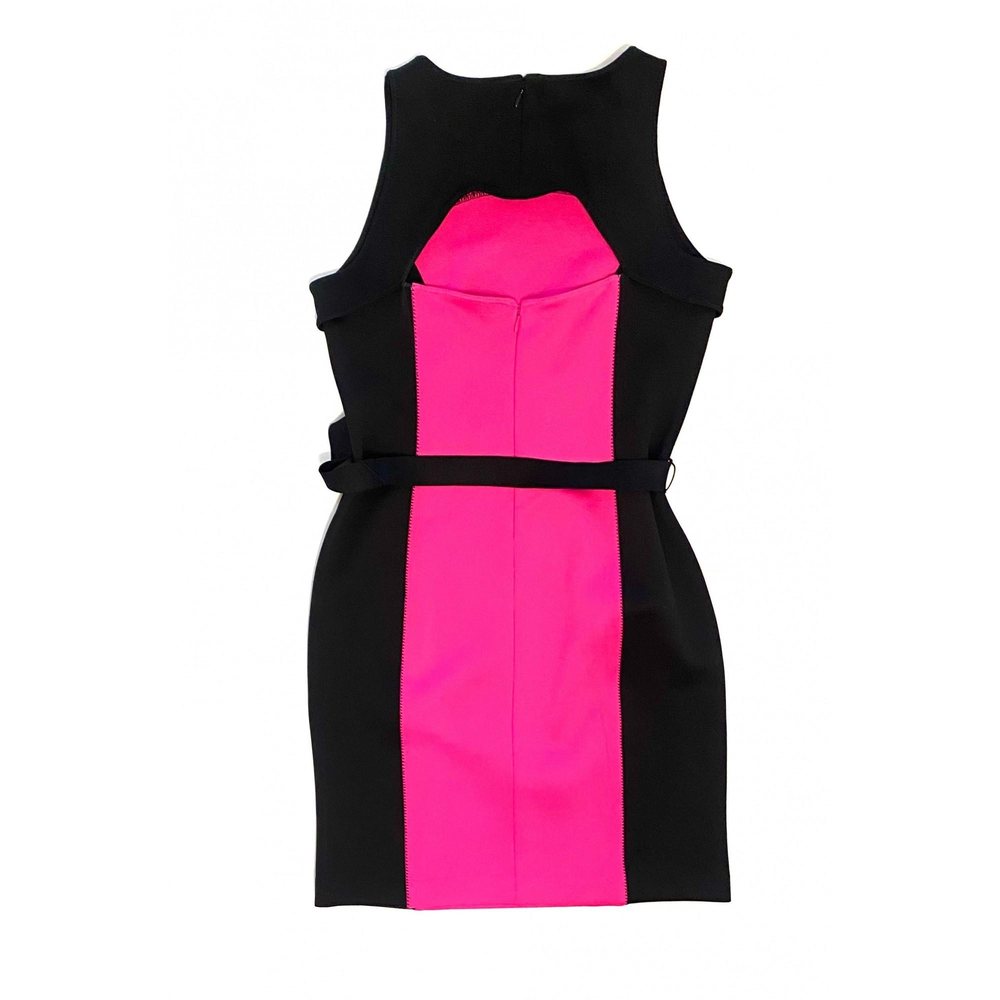 Vestido Michael Kors Preto e Pink