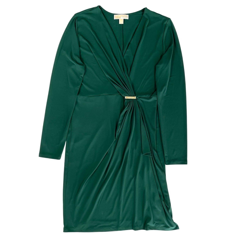Vestido Michael Kors Verde Militar