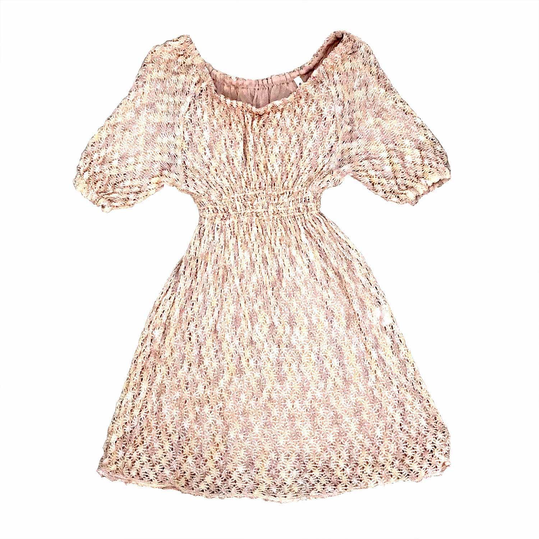 Vestido Missoni Infantil Rosé