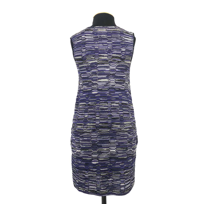 Vestido Missoni Tubinho Azul e Preto