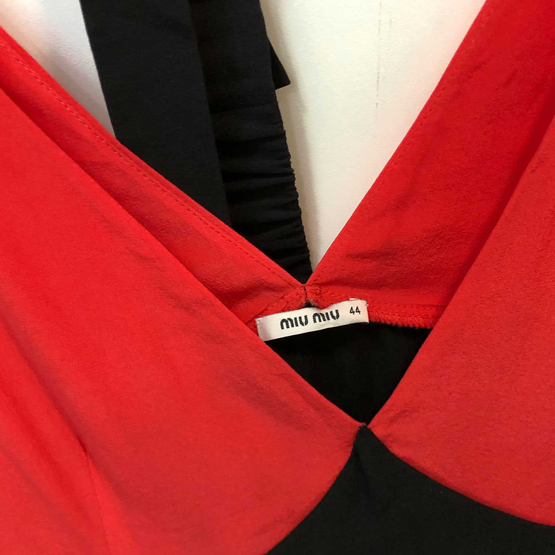 Vestido Miu Miu Tricolor
