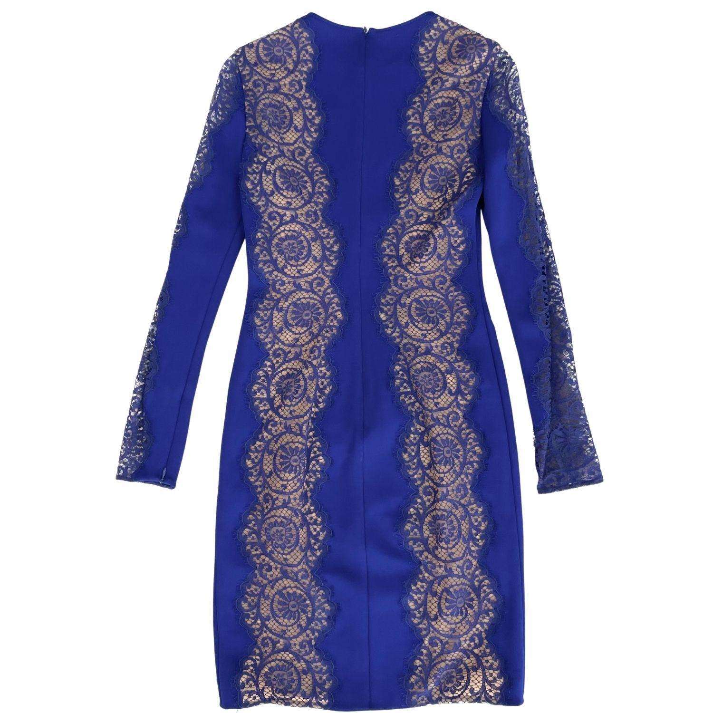 Vestido Pucci Renda Azul