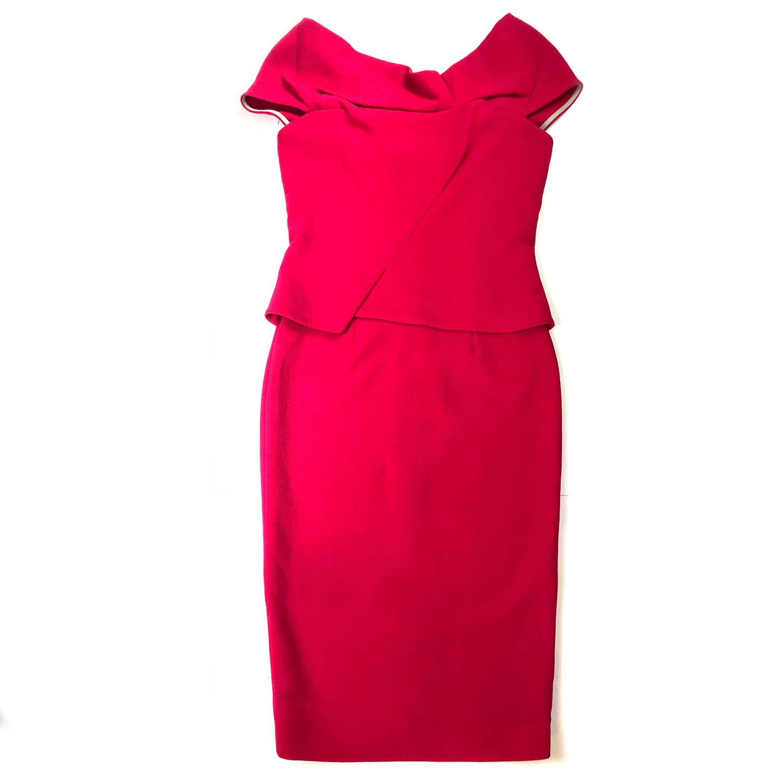 Vestido Roland Mouret Pink