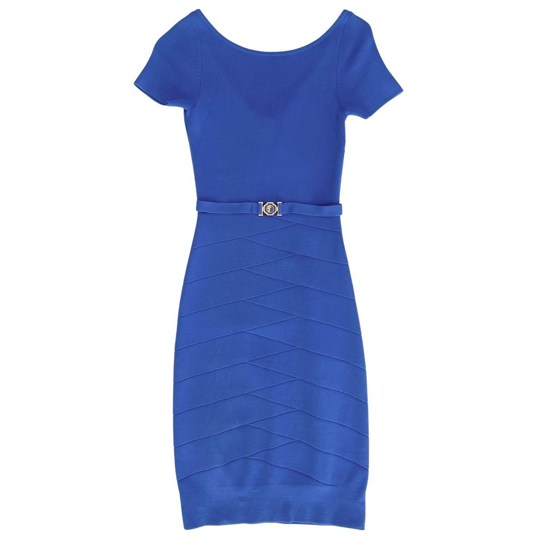 Vestido Versace Azul