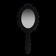 Espelho de Mao Forli Toque Rustico 17X12cm Casami