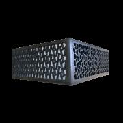 Luminaria Plafon LED Parma Toque Rustico 35X35cm Casami