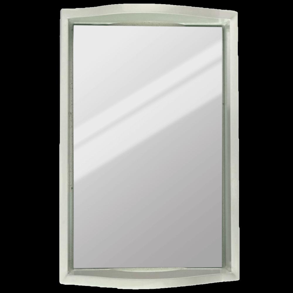Bandeja Laqueada Espelhada Decorativa Bari 34X18cm Casami