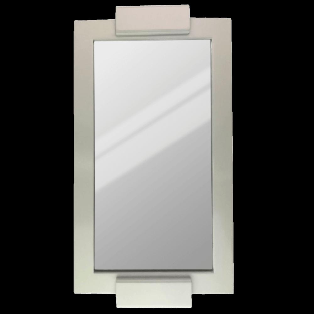 Bandeja Laqueada Espelhada Decorativa Turim 42X23cm Casami