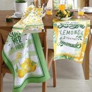 Kit Pano de Prato Tecilar lemons