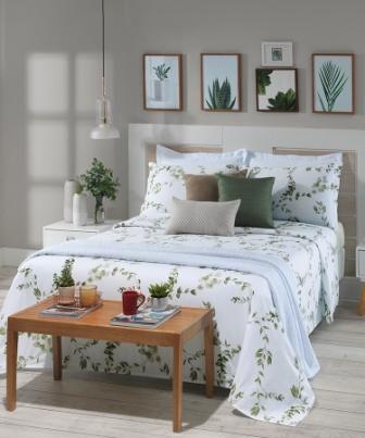 Jogo de cama Living Jardino