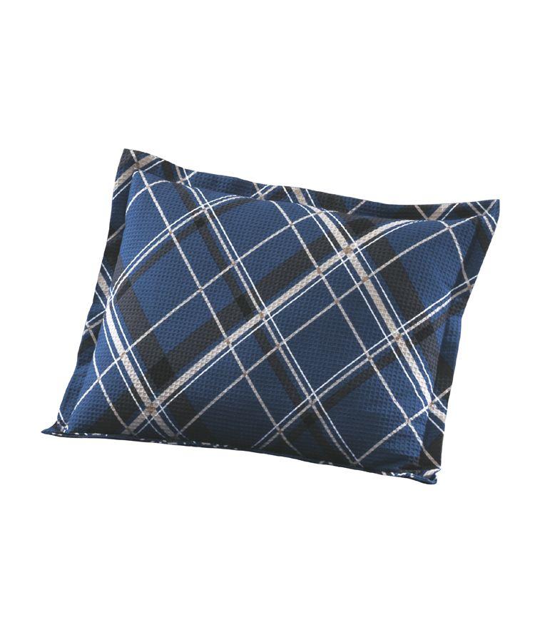Porta Travesseiro Piquet Geometrico