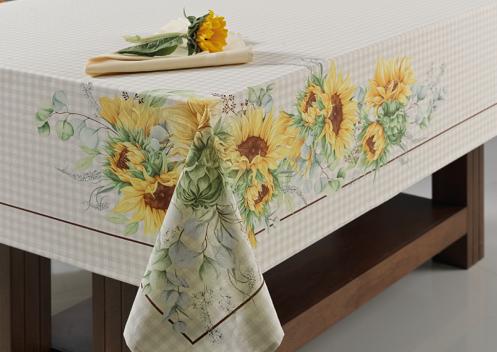Toalha Mesa Flor de Sol