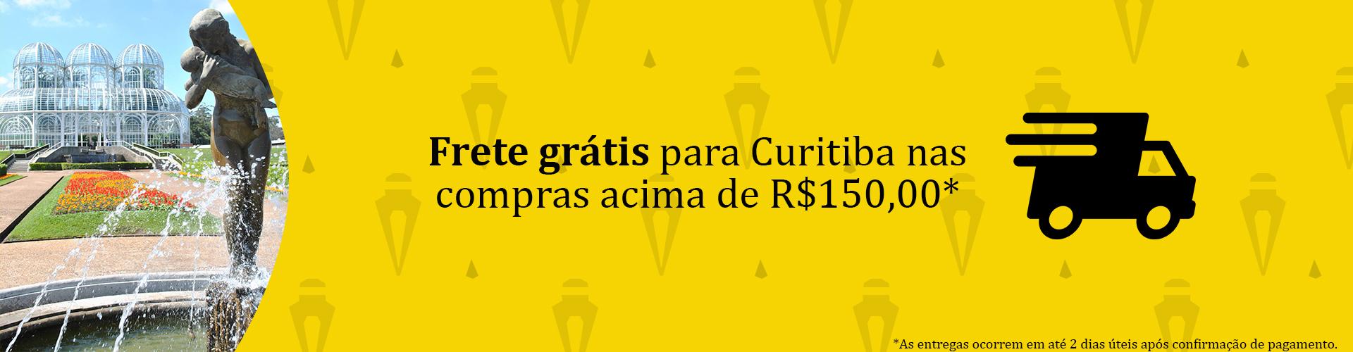 Frete Grátis para Curitiba