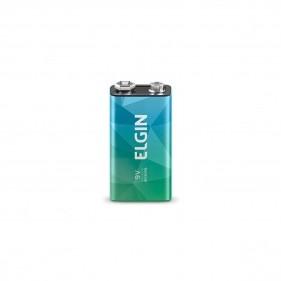 Bateria Alcalina Elgin 9V - 6LR61
