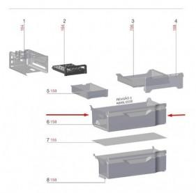 Gaveta Superior Freezer Geladeira Dm84x - Encomenda -