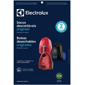 Kit Com 3 Sacos Descartáveis Para Aspirador De Pó NANO NEO30 e NEO31 Electrolux SBENA - DT30CCBR001P