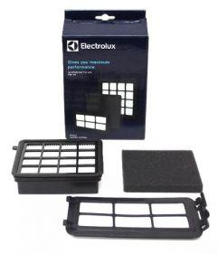 Kit Filtro Hepa Para Aspirador De Pó Electrolux Easybox Easy1 Easy2 - 900168147