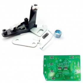 Kit Placa De Interface + Braço Co-injetado Para Lavadora De Roupas Electrolux LTC10 LTC12 - 60016900 / 64500135