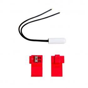Kit Sensor de Temperatura Para Geladeira Brastemp Consul 25mm 2,7ohms Brf36 Brm35 Crb36 - W10531315