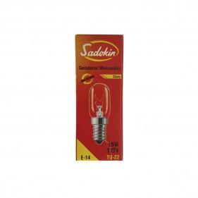 Lâmpada Para Geladeira Microondas Fogão Forno Rosca 14mm 110V 15w E-14