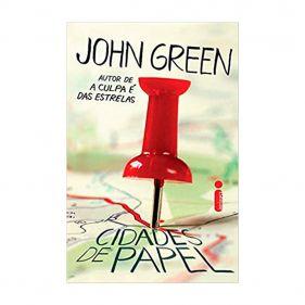 Livro Cidades de Papel - John Green - Seminovo