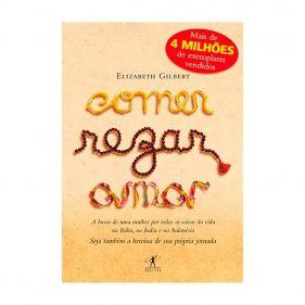 Livro Comer Rezar Amar - Elizabeth Gilbert - Seminovo