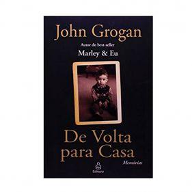 Livro De Volta Para Casa - John Grogan - Seminovo