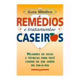 Livro Guia Médico - Remédios e Tratamentos Caseiros - Seminovo