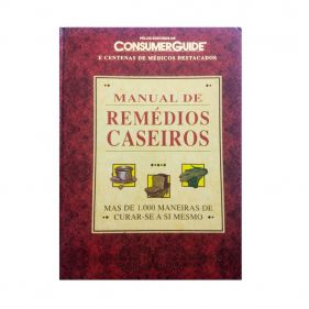 Livro Manual de Remédios Caseiros - Dr John Renner Seminovo