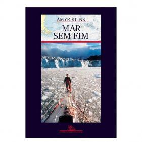 Livro Mar Sem Fim - Amyr Klink - Seminovo