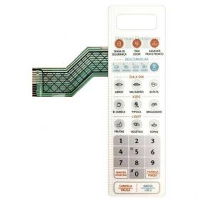 Membrana para Painel do Microondas MTO30 - 253069005521