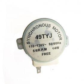 Motor De Prato 5/6 rpm Eixo Plástico Para Microondas 110V 49TYJ