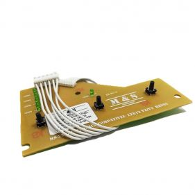 Placa Interface Lavadora de Roupas Electrolux LTE12 V2 Led Verde M&S - 64502207