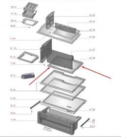 Prateleira Compartimento Chill Df82 A99178801- Encomenda