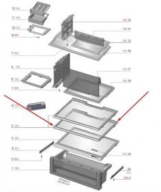 Prateleira Vidro Geladeira Df82 Df82x A99179201- Encomenda