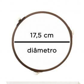 Rodizio Suporte Do Prato 17,5cm Roda 14mm Microondas Consul Brastemp Electrolux JRK