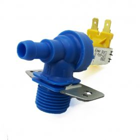 Válvula Solenoide Simples Entrada De Água Para Lavadora De Roupas 127v Com Suporte - Emicol
